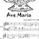 Ave Maria Beginner Piano Sheet Music Tadpole Edition
