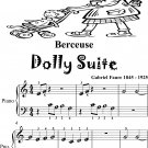 Berceuse Dolly Suite Beginner Piano Sheet Music Tadpole Edition