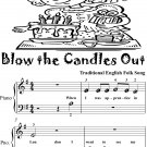 Blow the Candles Out Beginner Piano Sheet Music