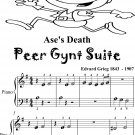 Ase's Death Peer Gynt Suite Beginner Piano Sheet Music Tadpole Edition