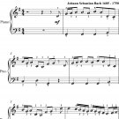 Sleepers Awake Easy Piano Sheet Music