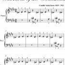 Cuckoo In the Depths of the Woods Carnival of the Animals Beginner Piano