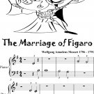 The Marriage of Figaro Beginner Piano Sheet Music