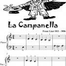 La Campanella Beginner Piano Sheet Music
