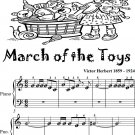 March of the Toys Victor Herbert Beginner Piano Sheet Music