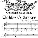Golliwog's Cake Waltz Children's Corner Beginner Piano Sheet