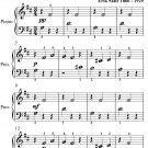 Gymnopedie Number 1 Beginner Piano Sheet Music