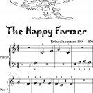 The Happy Farmer Beginner Piano Sheet Music