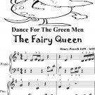 Dance for the Green Men Fairy Queen Beginner Piano Sheet Music