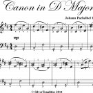Canon in D Major Elementary Piano With Easy Variations Sheet Music
