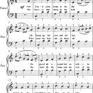 Meet Me In St Louis Louis Easy Piano Sheet Music