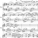 Rose Adagio Sleeping Beauty Easy Intermediate Piano Sheet Music