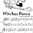 Witches Dance Beginner Piano Sheet Music