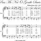 Pass Me Not O Gentle Savior Easy Piano Sheet Music