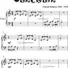 Le Petit Negre Beginner Piano Sheet Music