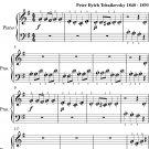 Russian Dance Nutcracker Suite Beginner Piano Sheet Music