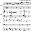 Solace Rag A Mexican Serenade Easiest Piano Sheet Music for Beginner Pianists