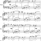 Fifth Nocturne Opus 52 Number 5 Easy Piano Sheet Music