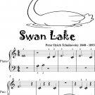 Swan Lake Beginner Piano Sheet Music