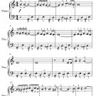 Hungarian Rhapsody Number 2 Easy Piano Sheet Music
