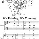 It's Raining It's Pouring Beginner Piano Sheet Music