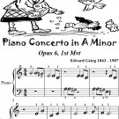Piano Concerto In A Minor Opus 6 First Mvt Beginner Piano Sheet Music