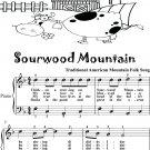 Sourwood Mountain Easy Piano Sheet Music
