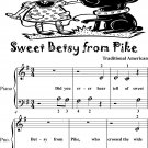 Sweet Betsy from Pike Beginner Piano Sheet Music