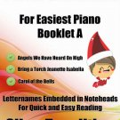 Petite Christmas for Easiest Piano Booklet A