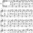 Pat Malloy Easy Piano Sheet Music