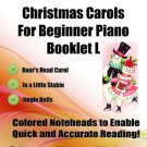 Little Angels Christmas Carols for Beginner Piano Booklet L