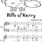 Hills of Kerry Beginner Piano Sheet Music