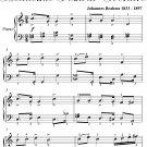 Gaudeamus Igitur Academic Festival Overture Elementary Piano Sheet Music