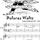 Dolores Waltz Beginner Piano Sheet Music 2nd Edition