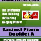 Bumble Boogie Ragtime for Easiest Piano Booklet A