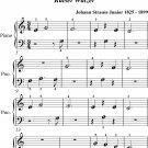 Emperor Waltz Beginner Piano Sheet Music