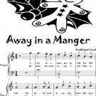 Away In a Manger Easiest Piano Sheet Music 2nd Edition