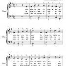 God Rest Ye Merry Gentlemen Easiest Piano Sheet Music
