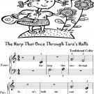 Harp That Once Through Tara's Halls Beginner Piano Sheet Music