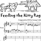 Feeding the Kitty Rag Beginner Piano Sheet Music