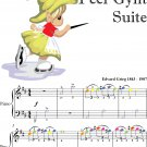 Dance of the Mountain King's Daughter Peer Gynt Suite Easiest Piano Sheet Music with Colored Notes