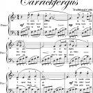 Carrickfergus Elementary Piano Sheet Music