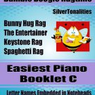Bumble Boogie Ragtime for Easiest Piano Book C