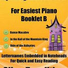 Spooky Halloween for Easiest Piano Booklet B