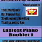 Bumble Boogie Ragtime for Easiest Piano Booklet J