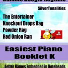Bumble Boogie Ragtime for Easiest Piano Booklet K