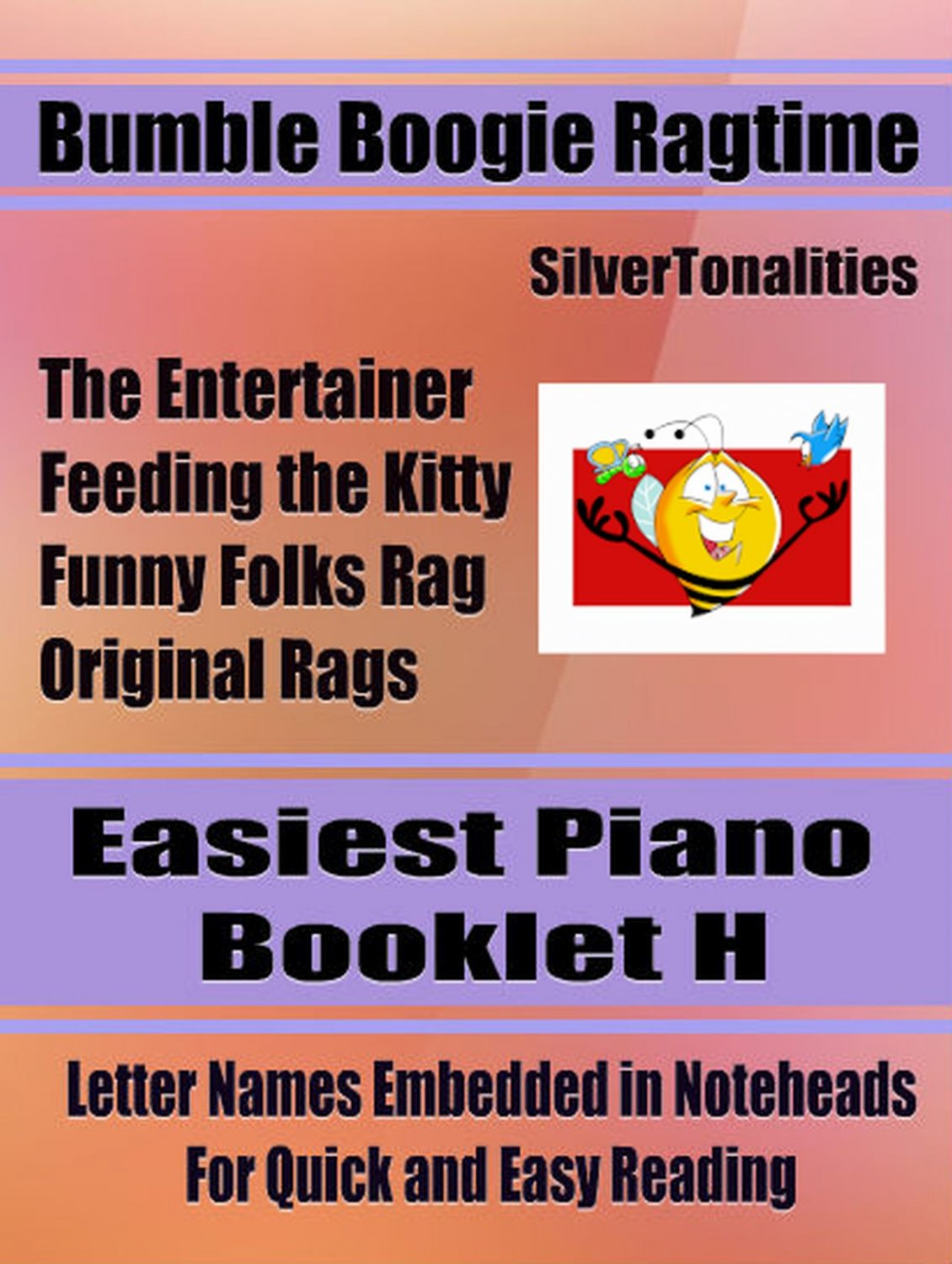 Bumble Boogie Ragtime for Easiest Piano Booklet H