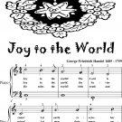 Joy to the World Easy Piano Sheet Music