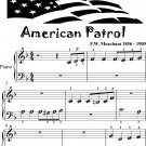 American Patrol Beginner Piano Sheet Music Tadpole Edition