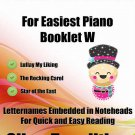 Petite Christmas for Easiest Piano Booklet W